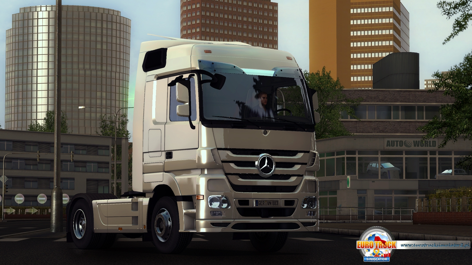 Mercedes Actros 2